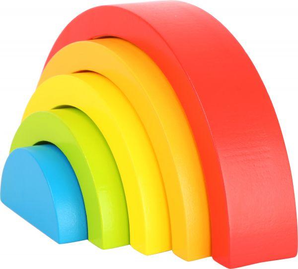 Holzbausteine Regenbogen