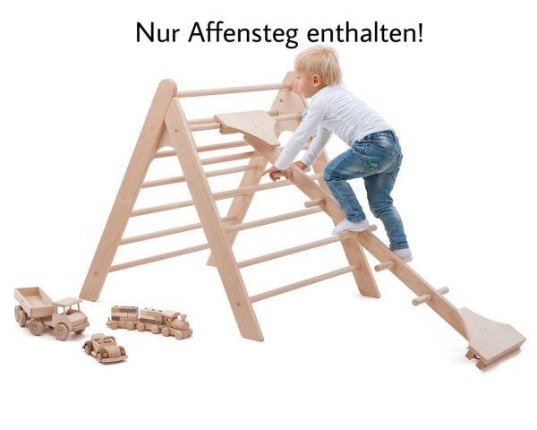 Sprossenbaum/Affensteg für Kletterdreieck