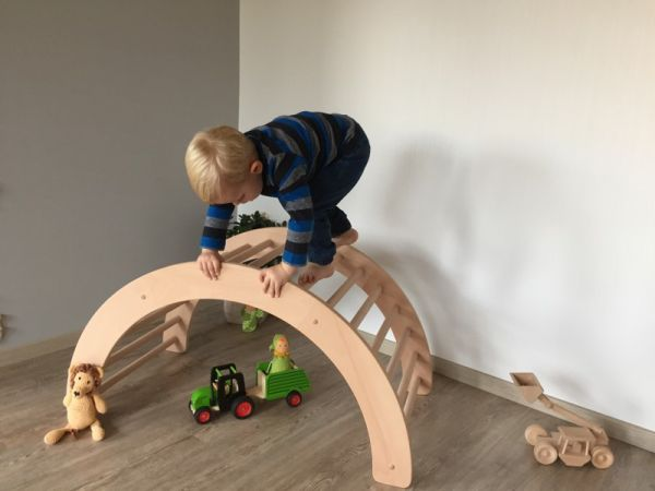 Kletterdreieck Pikler Gebraucht : Kletterbogen art pikler klapperspecht