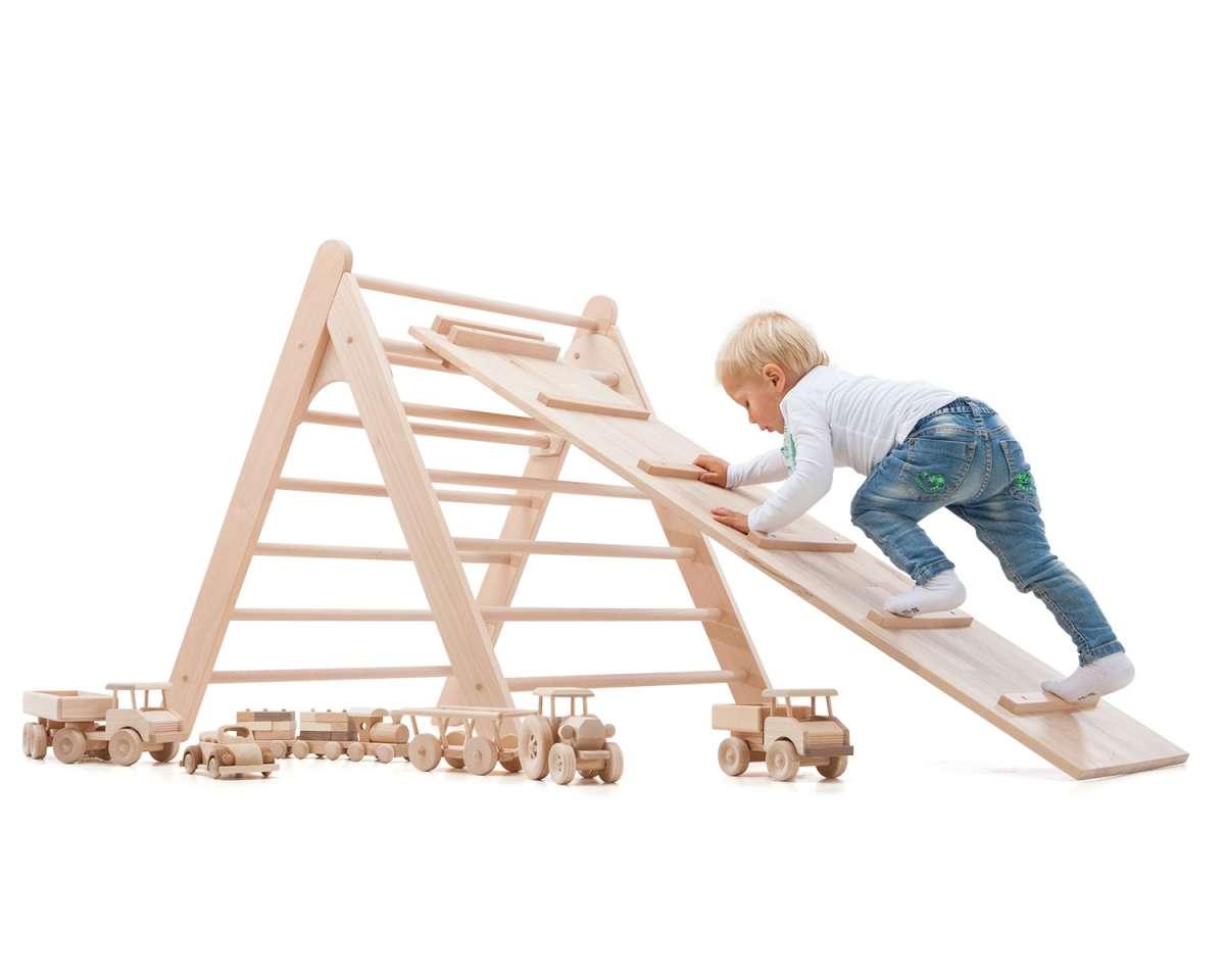 Kletterdreieck Für Kinder : Hühnerleiter rutschbrett für kletterdreieck klapperspecht