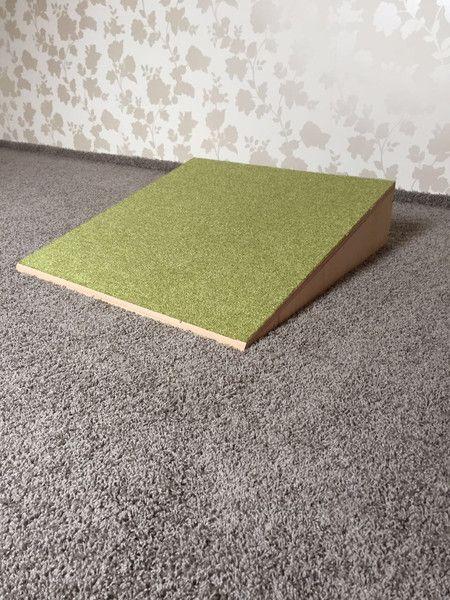 Krabbelrampe Teppich für Krabbelkiste
