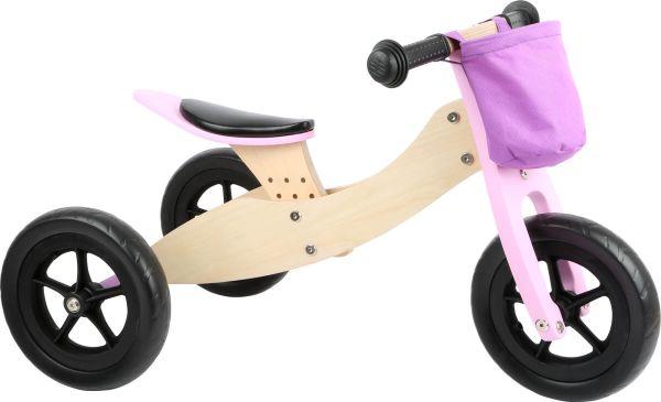 Laufrad-Trike Maxi 2 in 1 Rosa